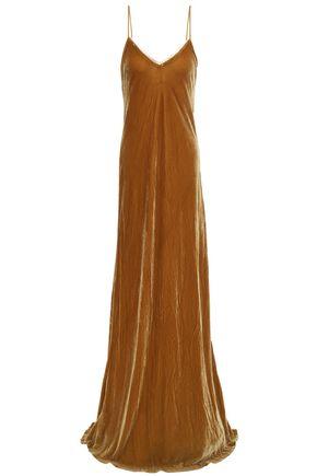 MES DEMOISELLES Valentina velvet gown