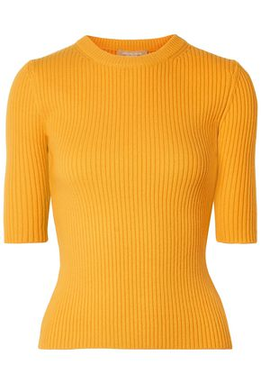 MICHAEL KORS COLLECTION Ribbed cashmere-blend sweater