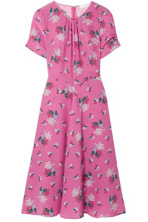 ALTUZARRA Tuesday floral-print silk crepe de chine dress