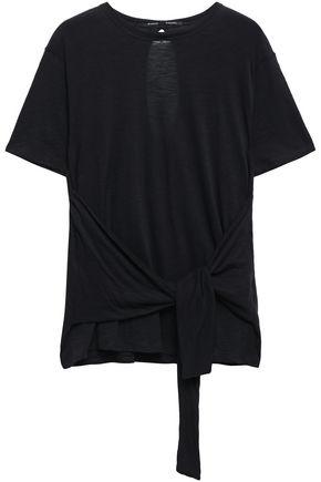 PROENZA SCHOULER カットアウト タイフロント スラブコットンジャージー Tシャツ