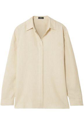 THEORY Linen shirt