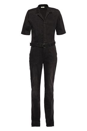 BA&SH ベルト付き デニム ジャンプスーツ