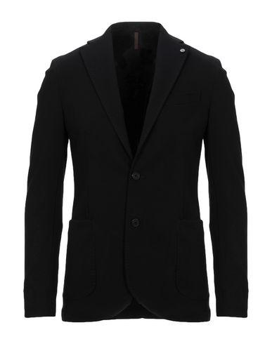 Фото - Мужской пиджак LABORATORI ITALIANI черного цвета