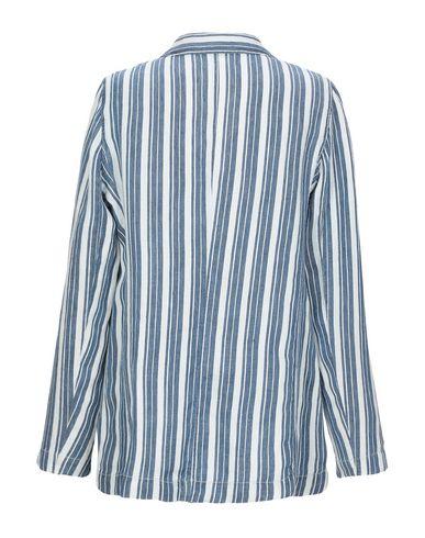 Фото 2 - Женский пиджак ZHELDA синего цвета