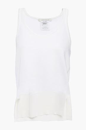 CEDRIC CHARLIER Paneled knitted tank