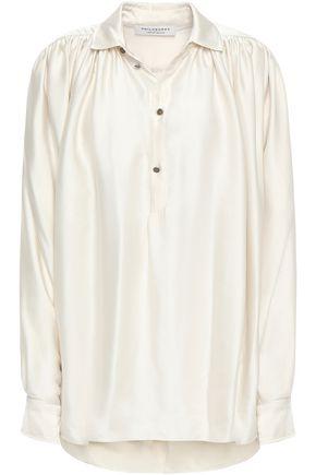 PHILOSOPHY di LORENZO SERAFINI Satin blouse