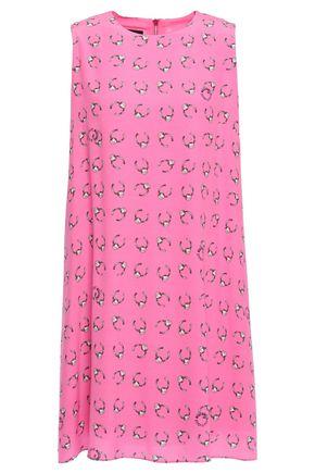 BOUTIQUE MOSCHINO Printed woven mini dress