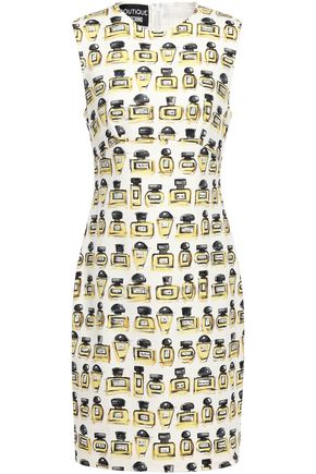 BOUTIQUE MOSCHINO Printed woven dress