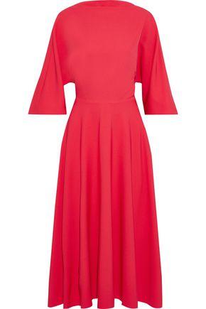 ROKSANDA Dara open-back knotted crepe midi dress
