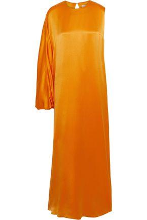 ROKSANDA One-shoulder silk-satin crepe gown