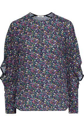 JASON WU Floral-print crepe blouse