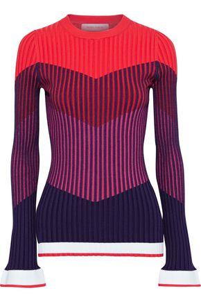 PRABAL GURUNG リブ編みニット セーター