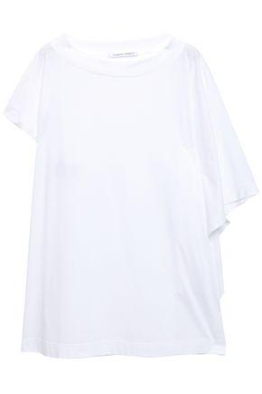 ALBERTA FERRETTI Draped cotton-jersey top