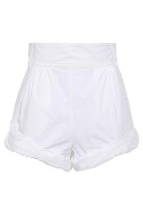PHILOSOPHY di LORENZO SERAFINI Cotton-blend poplin shorts