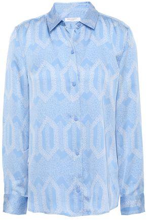 EQUIPMENT Leema printed washed-satin shirt