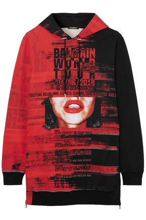 BALMAIN Printed neoprene hoodie