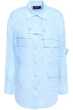 JOSEPH Wesley ramie shirt