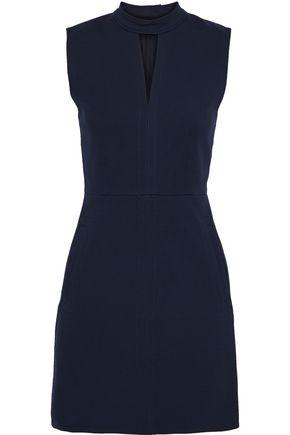 TIBI Cutout cady mini dress