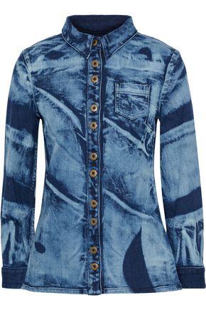 PROENZA SCHOULER Bleached denim shirt