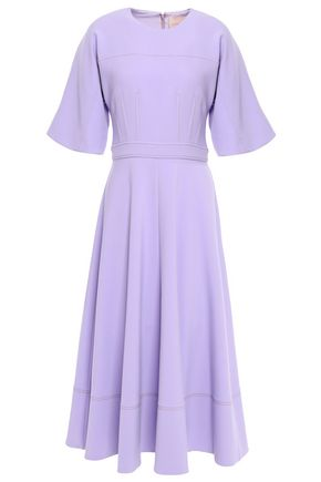 ROKSANDA Flared stretch-crepe midi dress