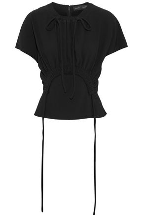 PROENZA SCHOULER Gathered crepe top