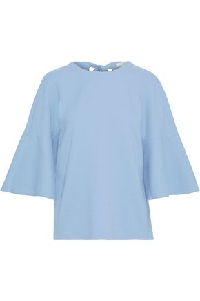 TIBI Fluted stretch-cady top