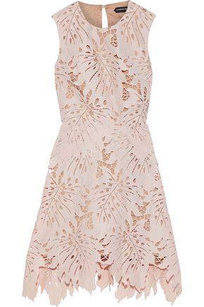 CATHERINE DEANE Nika guipure lace mini dress