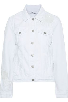 J BRAND Embellished denim jacket