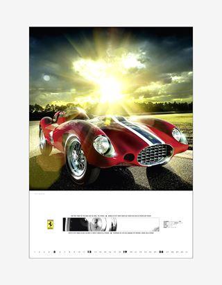 Scuderia Ferrari Online Store - Ferrari Legend 2020 Official Ferrari Calendar - Posters & Prints