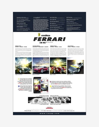 Ferrari Legend 2020 Official Ferrari Calendar