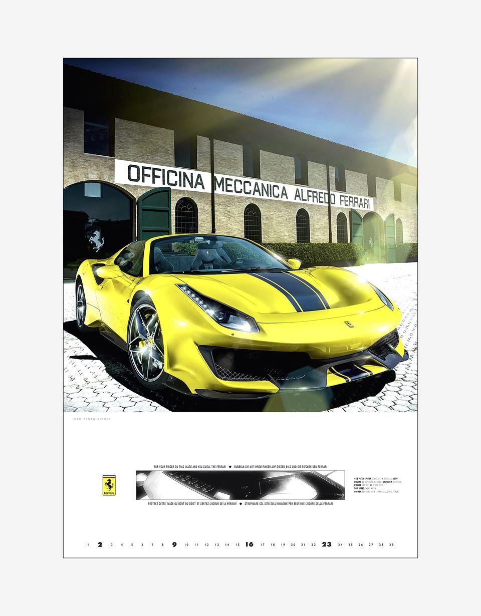 Scuderia Ferrari Online Store - Mito Ferrari 2020 official Ferrari calendar - Posters & Prints