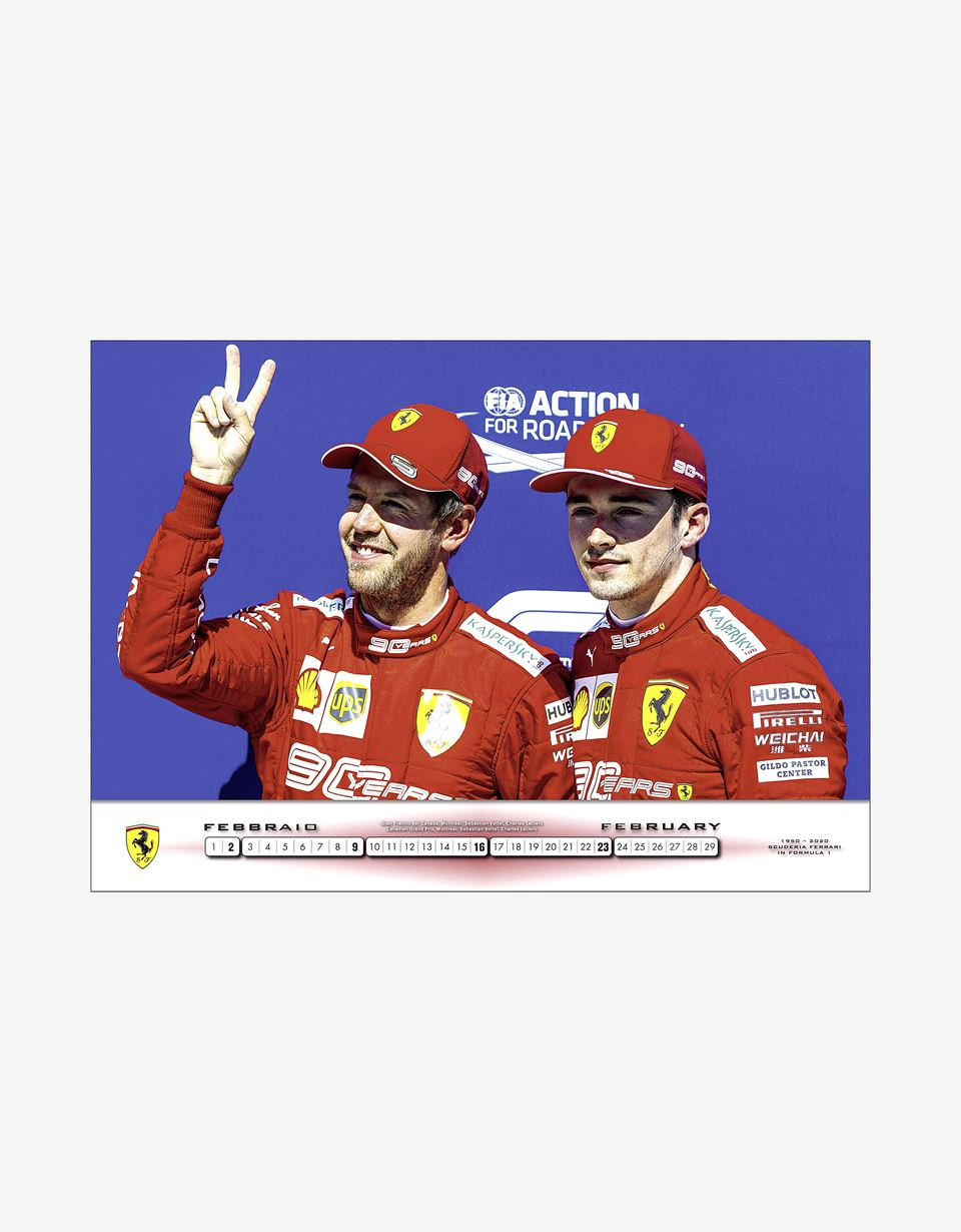 Scuderia Ferrari Online Store - Scuderia Ferrari 2020 Official Calendar - Magazines & Others