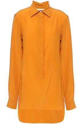 VICTORIA BECKHAM Silk-chiffon shirt