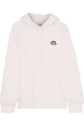 FIORUCCI Icon Angels appliquéd French cotton-terry hoodie