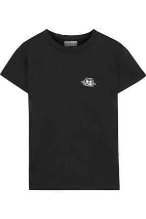 FIORUCCI Icon Angels appliquéd cotton-jersey T-shirt
