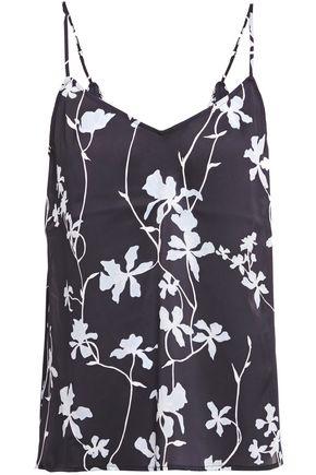 EQUIPMENT Floral-print satin camisole