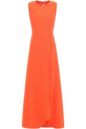 VICTORIA BECKHAM فستان طويل بتصميم منسدل من الكريب