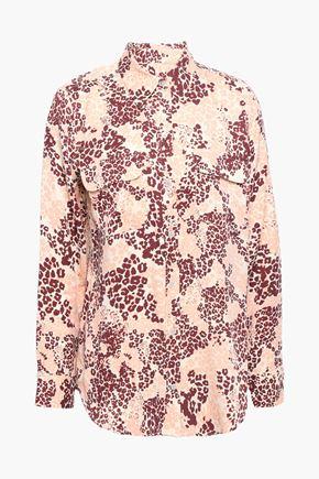 EQUIPMENT Printed silk-blend shirt