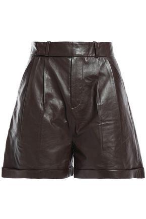 EQUIPMENT Leather shorts