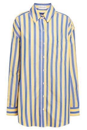 MANSUR GAVRIEL Oversized striped chambray shirt