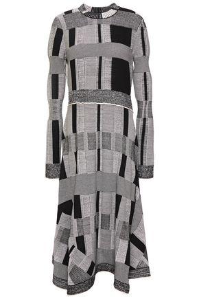 PROENZA SCHOULER Jacquard-knit midi dress