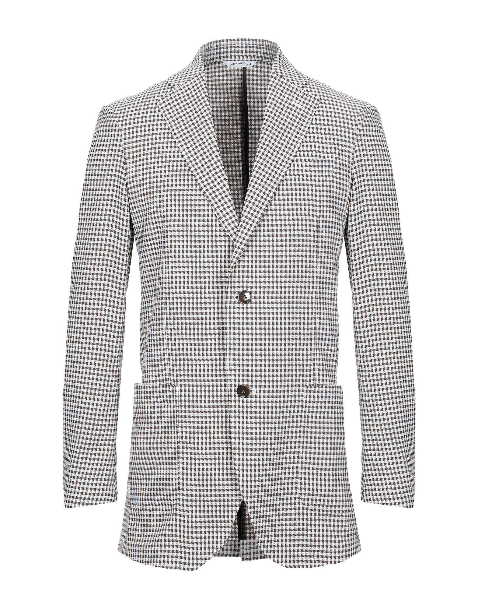 《セール開催中》HYBRID SENSOR? by FLEXJAPAN メンズ テーラードジャケット カーキ 46 ポリエステル 100%