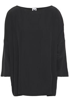 M MISSONI Washed-silk blouse
