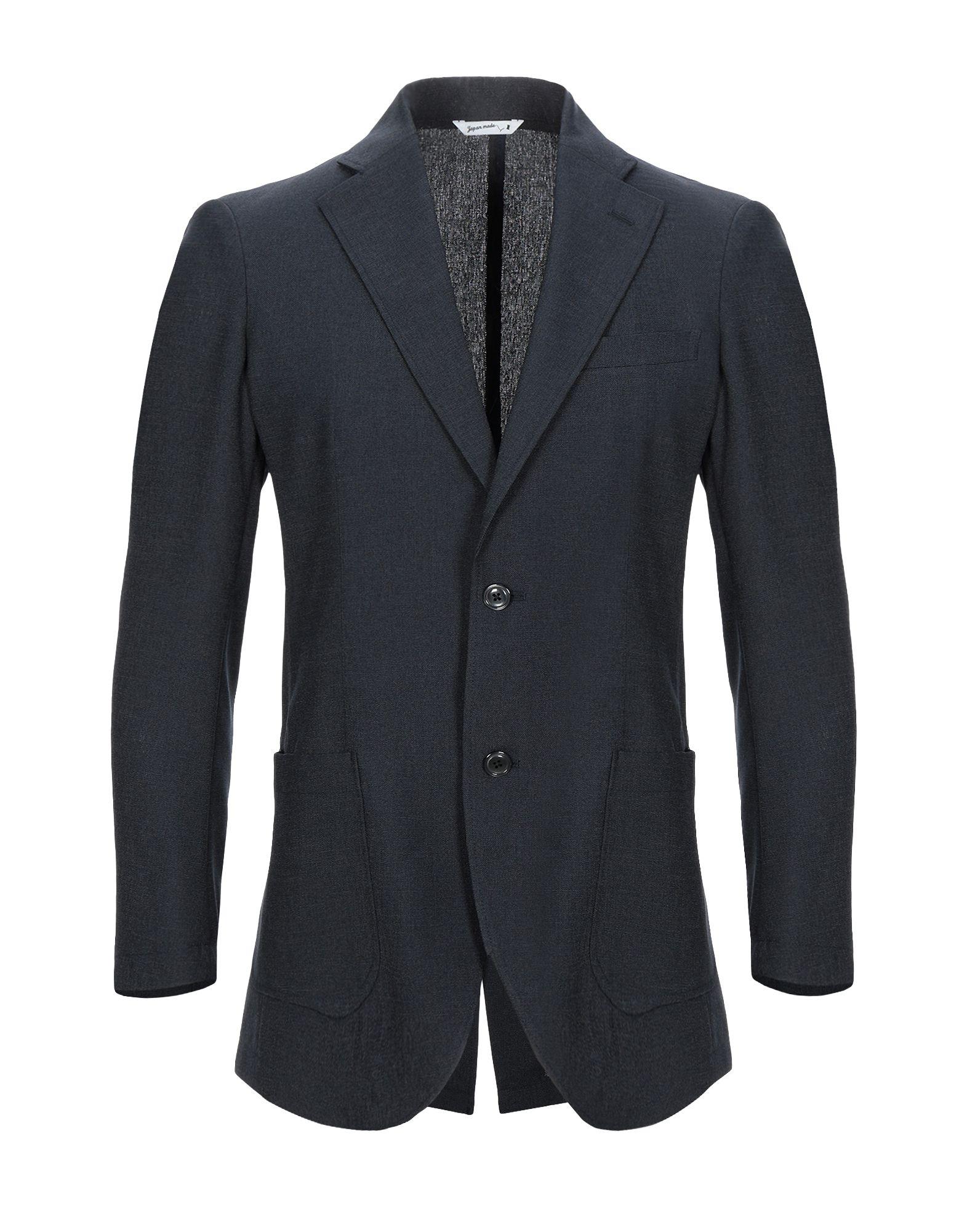 《セール開催中》HYBRID SENSOR? by FLEXJAPAN メンズ テーラードジャケット ブラック 50 ポリエステル 100%