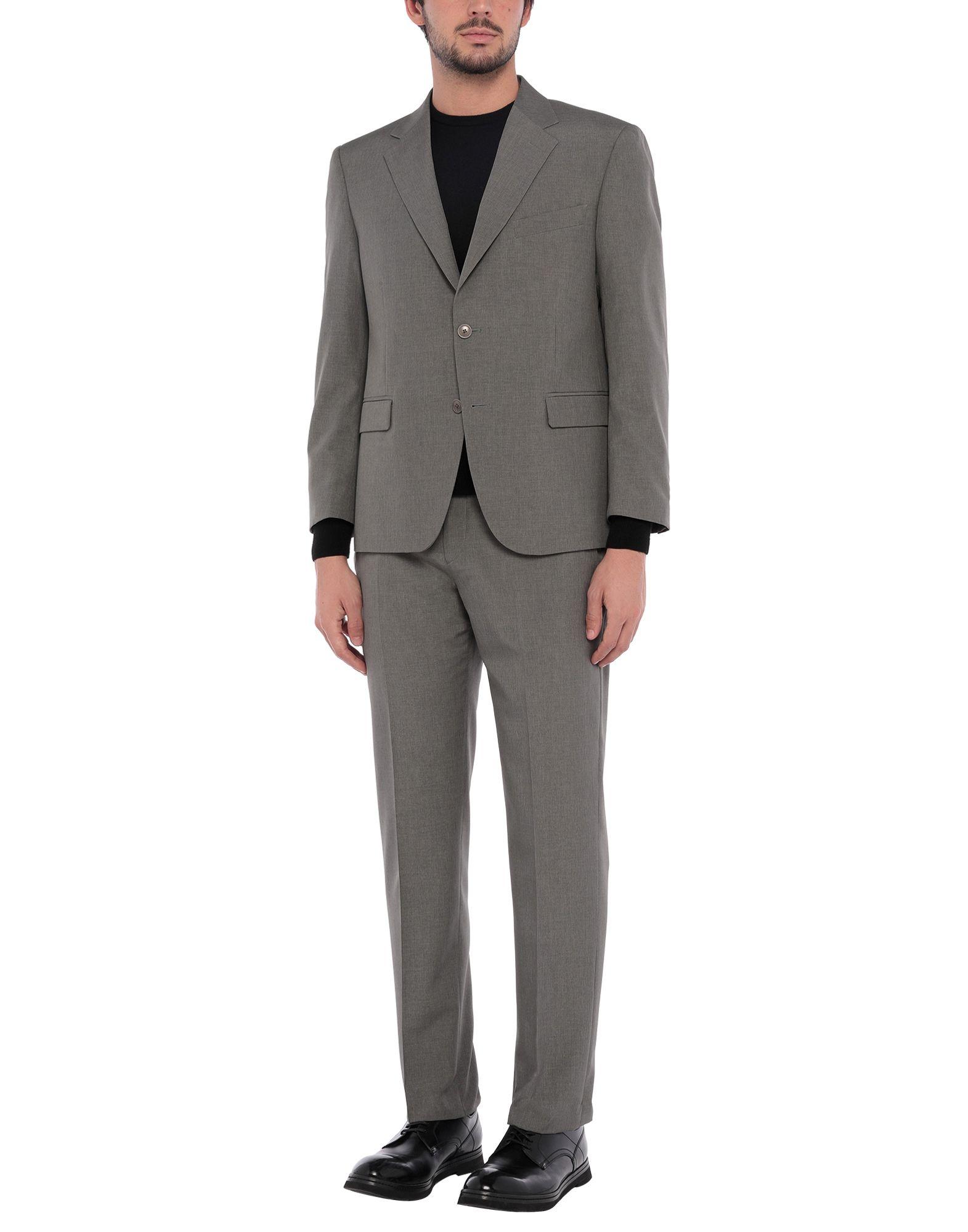 《セール開催中》CITY TIME メンズ スーツ グレー 46 ポリエステル 100%