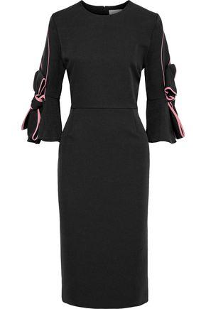 ROKSANDA فستان من قماش كادي مزين بعقدة فراشية