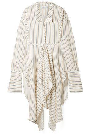 J.W.ANDERSON Draped striped woven tunic