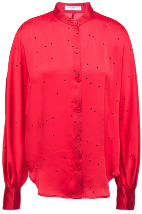 EQUIPMENT Gabin printed washed-satin shirt