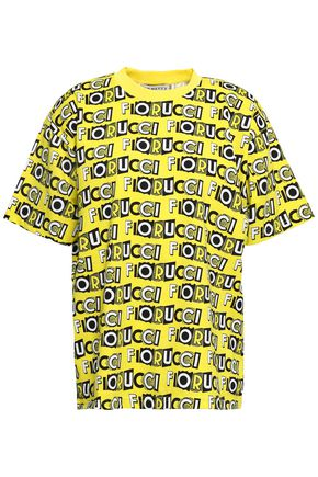 FIORUCCI Printed cotton-jersey T-shirt