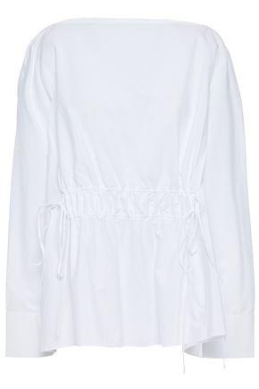 MARNI بلوزة بتصميم ملموم من قماش البوبلين القطني
